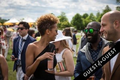 carly cushnie in Veuve Clicquot Polo Classic 2014