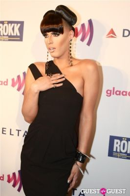carmen carrera in GLAAD Summer Rooftop