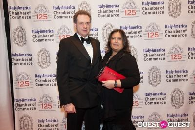 mrs. pappagallo in Italy America CC 125th Anniversary Gala