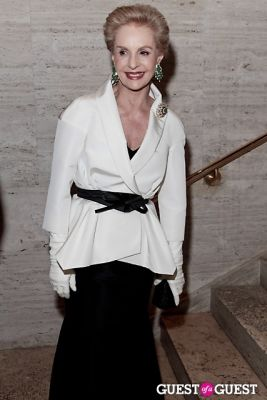carolina herrera in The School of American Ballet Winter Ball: A Night in the Far East