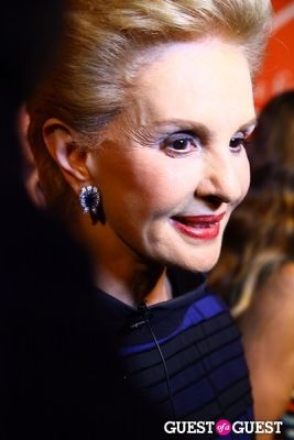 carolina herrera in The Fashion Group International 29th Annual Night of Stars: DREAMCATCHERS