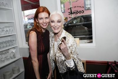 carmen dell-orefice in Brasserie Cognac East Opening