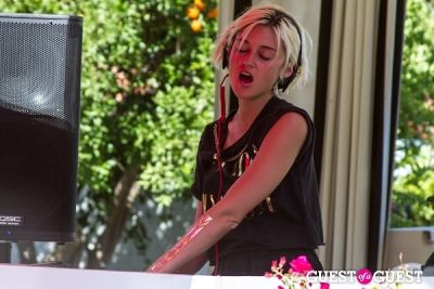 caroline d-amore in Coachella: GUESS HOTEL Pool Party at the Viceroy, Day 2