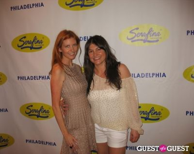 letizia manfredi in Serafina Philadelphia Grand Opening Party