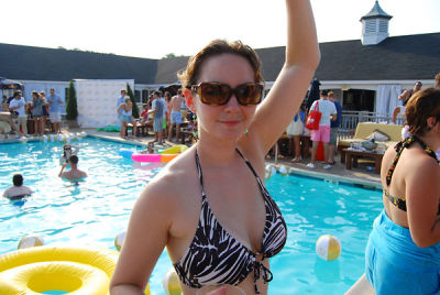 caroline mccarthy in Thrillist Hamptons Launch