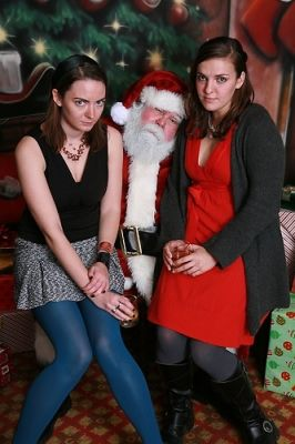caroline mccarthy in Ricky and Josh's Christmas Party