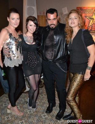 megan massacre in Grand Opening of Wooster St Social Club/ NY INK