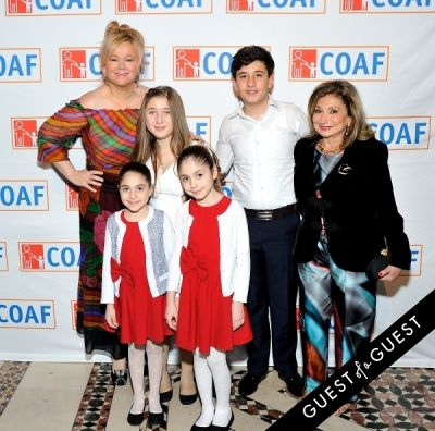 meri musinyan in COAF 12th Annual Holiday Gala