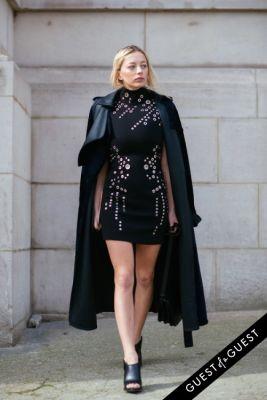 caroline vreeland in Paris Fashion Week Pt 4