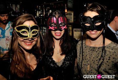 carolyn bachman in amfAR's generationCURE Masquerade