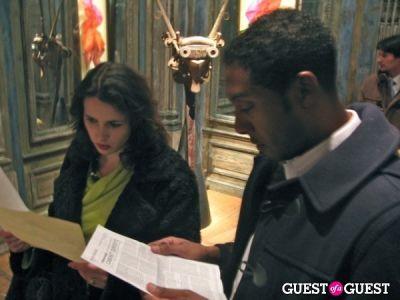randolph frazier in Le Cabinet de Curiosités Private Tour
