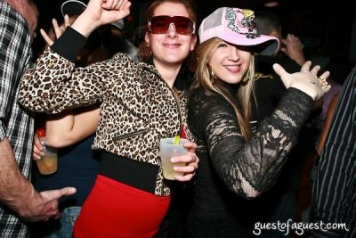 anastasia in Jersey Shore Theme Party with DJ Pauly D