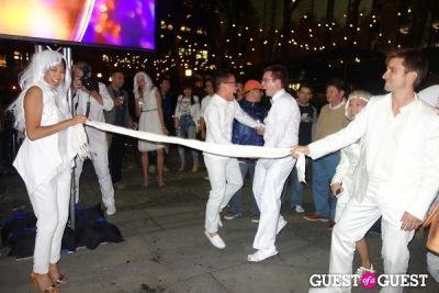 cary woodworth in Diner en Blanc NYC 2013