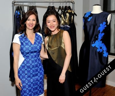 katherine kung in Bene Rialto Spring Launch