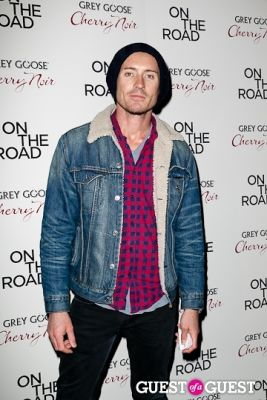 casper zafer in NY Premiere of ON THE ROAD