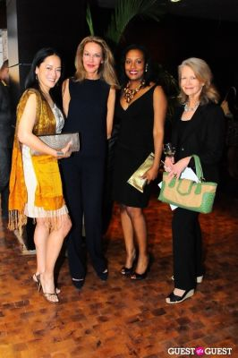 cece cord in Billy Norwich, Gillian Hearst and the Sanctuary Hotel host party for artist Garrett Chingery