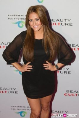 cassie scerbo in Exhibit Opening Of