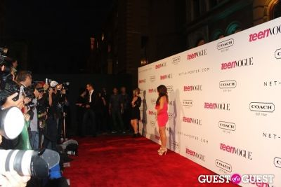 cassie scerbo in 9th Annual Teen Vogue 'Young Hollywood' Party Sponsored by Coach (At Paramount Studios New York City Street Back Lot)