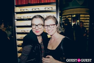 andrea huspeni in Warby Parker Upper East Side Store Opening Party