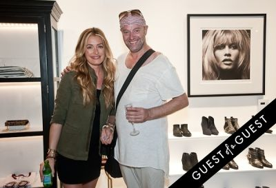 cat deeley in Anine Bing, Flagship Store Opening