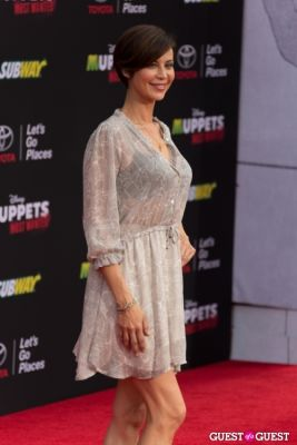catherine bell in Premiere Of Disney's