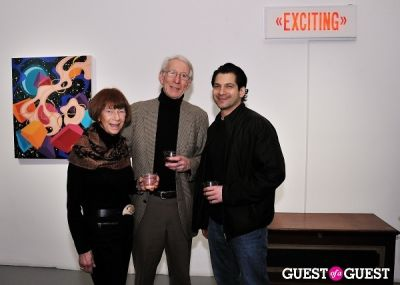 nando in Retrospect exhibition opening at Charles Bank Gallery