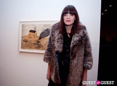 catherine townsend in David Lynch 'Naming' Opening Reception