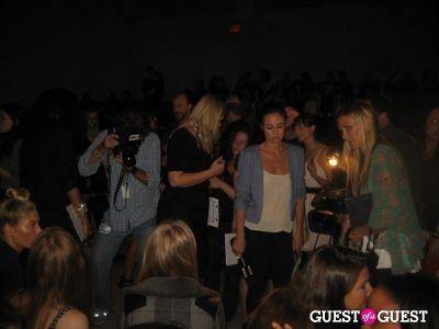 catt sadler in NYFW: Charlotte Ronson Spring 2012