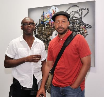 michael forbes in Ronald Ventura: A Thousand Islands opening at Tyler Rollins Gallery