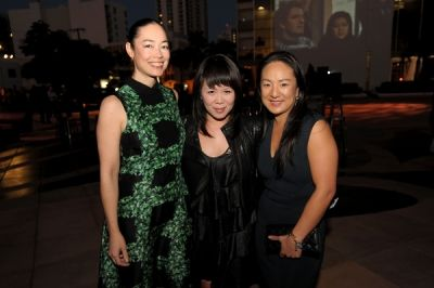 sandra kang in YoungArts+Visionaire present
