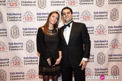 gabriel monzon in Italy America CC 125th Anniversary Gala