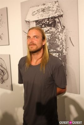 chad muska in LabArtLA Grand Opening