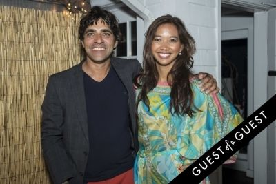 chandan walia in The Untitled Magazine Hamptons Summer Party Hosted By Indira Cesarine & Phillip Bloch