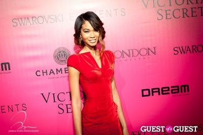 chanel iman in Victoria's Secret 2011 Fashion Show After Party