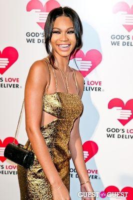 chanel iman in God's Love Golden Heart Achievement Awards