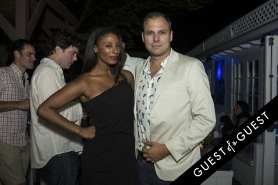 stan stalnaker in The Untitled Magazine Hamptons Summer Party Hosted By Indira Cesarine & Phillip Bloch