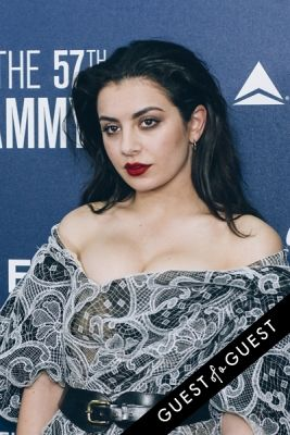 charli xcx in Delta Air Lines Kicks Off GRAMMY Weekend With Private Performance By Charli XCX & DJ Set By Questlove