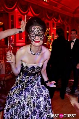 charlotte greenough in Save Venice's Un Ballo in Maschera – The Black & White Masquerade Ball