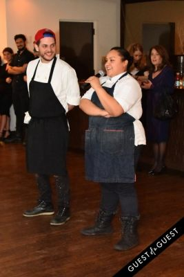 chef evelyn-garcia in Battle of the Chefs Charity by The Good Human Project + Dinner Lab
