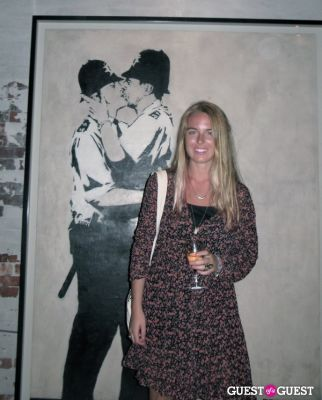 chelsea burcz in Banksy in the Hamptons
