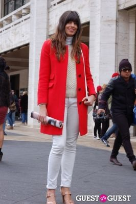 chelsea claridge in NYFW: Street Style from the Tents Day 5