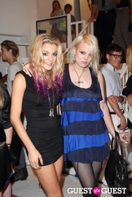 chelsea leyland in I.N.C Fall 2011 Launch Party