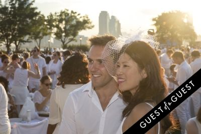 chelsea power in Diner En Blanc NYC 2014