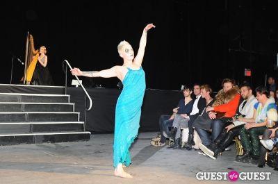 chelsey dunkel in Richie Rich's NYFW runway show