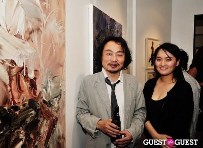 chen ping in Unseen Forest - New Paintings by Chen Ping opening