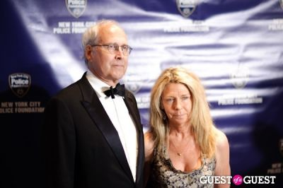 chevy chase in NYC Police Foundation - 40th Anniversary Gala
