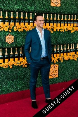 cheyenne jackson in The Sixth Annual Veuve Clicquot Polo Classic Red Carpet