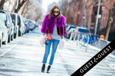 chiara ferragni in NYFW Street Style Day 4