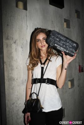 Steve Madden & The Blonde Salad's Chiara Ferragni
