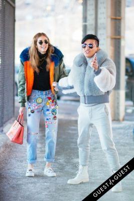 chiara ferragni in NYFW Street Style Day 6